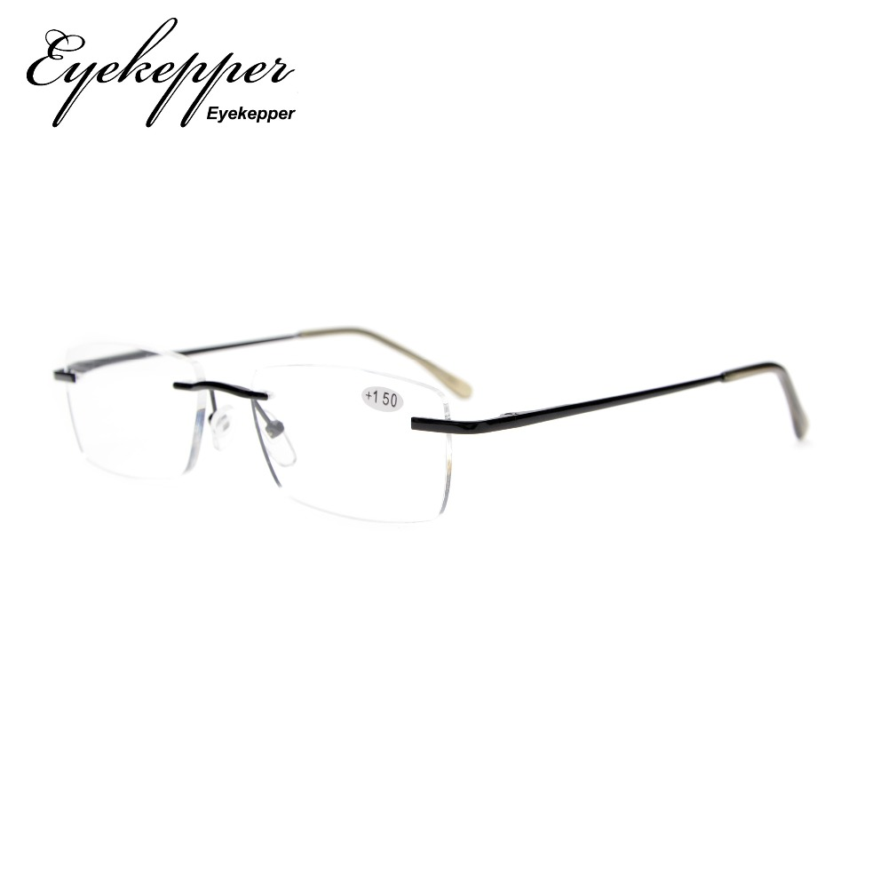 f5c93083e84f3 R1612 Eyekepper رجل إمرأة مفصلات نابضة بدون شفة نظارات للقراءة + 0.00 -----  + 3.00