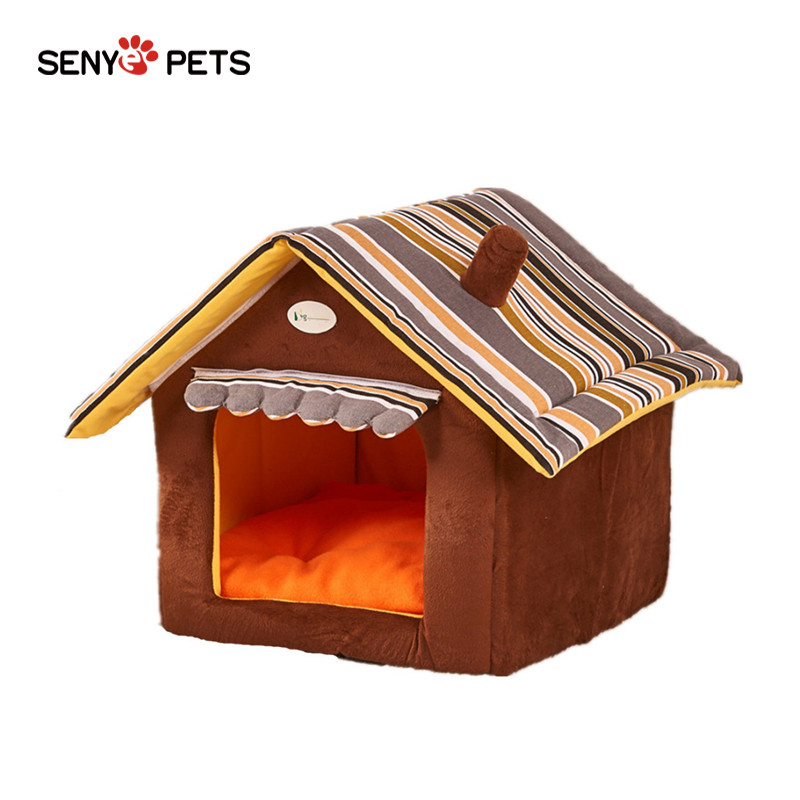 New product 2019 Dog Bed soft Kennel Kennel Pet cat puppy