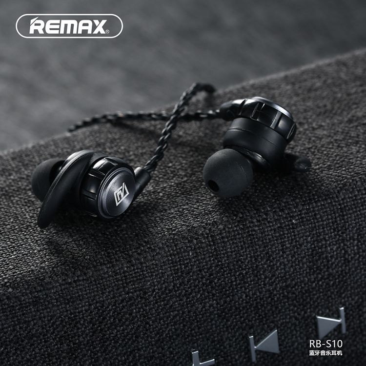 Remax RB S10 neck mounted Bluetooth headset magnetic adsorption design HD  multipoint connection v4.1 earphone-in Bluetooth Earphones   Headphones  from ... 7ca25015ff