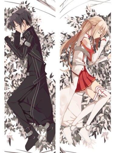Yuuki Sword Art Online Kuschel Kissen I Chibi SAO Dekokissen I Kirigaya Kazuto