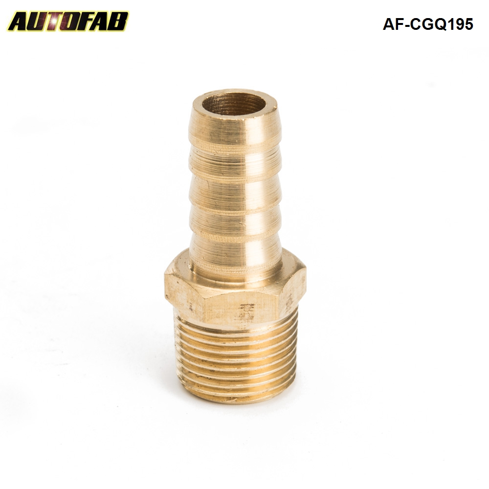 """1//2/""""-20 x 1//8-27 NPT Pipe Thread Fuel Inlet Reducer Fitting Solid brass 1 pcs"""