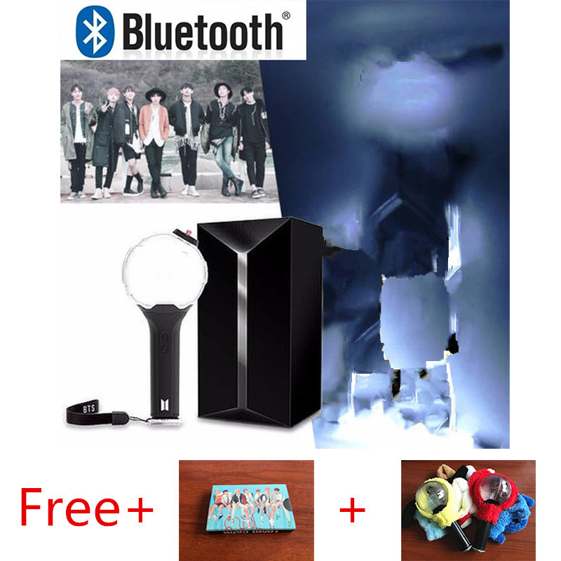 Costumes & Accessories Inventive Original Kpop Bomb Light Stick Lightstick Official Ver.3 With Bluetooth Concerts Glow Free Gift Rj Coat Lomo Card Costume Props