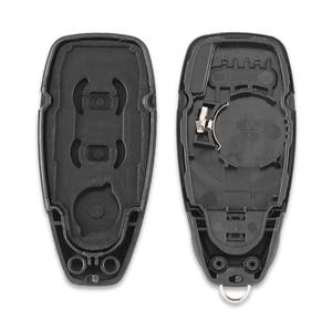 Image 5 - Dandkey 3 Nút Chìa Khóa Thông Minh Vỏ Bao Fob Dành Cho Xe Ford Mondeo Chiến Thắng Kuga Fiesta Tập Trung Titan Chìa Khóa Xe Ô Tô Ốp Lưng HU101 lưỡi Dao