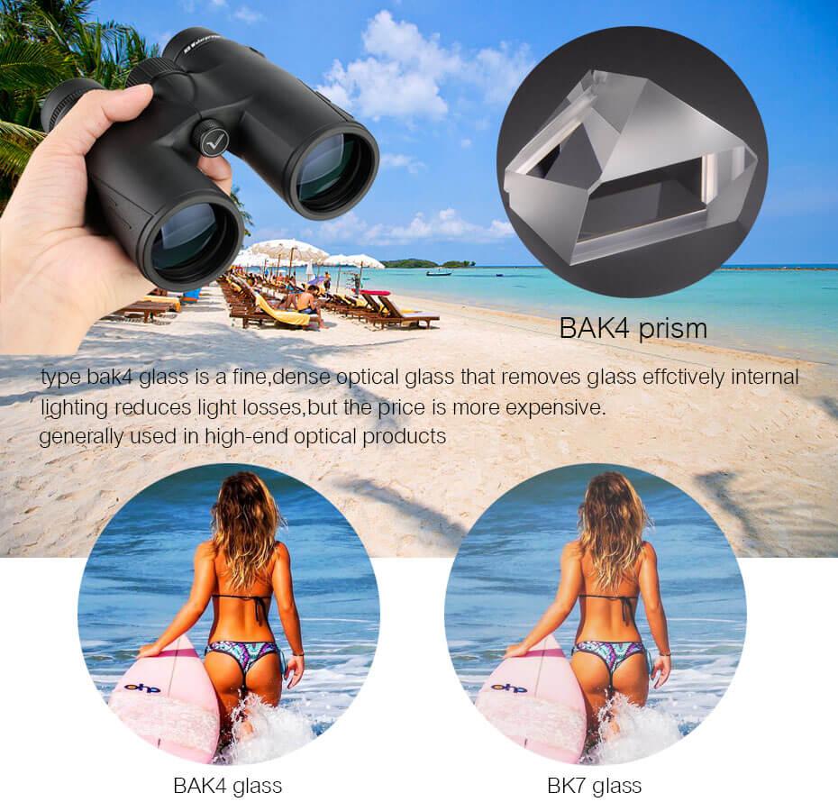 Tools : SVBONY Hunting Binoculars 8X42 10X42 8X32 BAK4 Prism SV47 HD Zoom Telescope High Power Waterproof Nitrogen Filled  F9340
