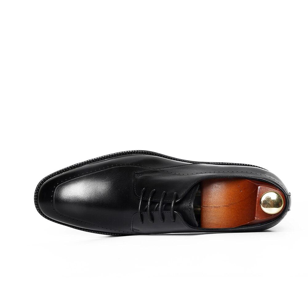 Retro Homens Couro Redondo Sapatos Nova Noiva De Genuíno Casuais Calçados Dedo Em Vestido Slip Estilo Negócio Black Dos 2018 blue Do Pé CqIEPFw