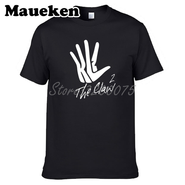 1b3faf7a81b Men Kawaii THE KLAW Kawhi Leonard 2 mvp THE CALW 2 Toronto T-shirt Clothes  T Shirt Men s o-neck tee W17081699