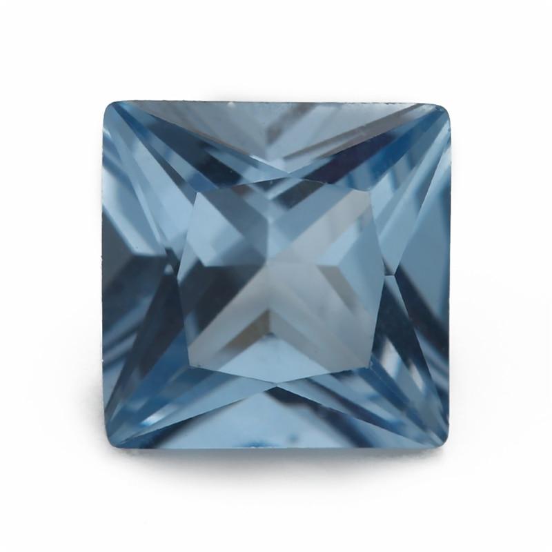 Купить размер 3x3 мм ~ 10x10 синяя квадратная форма фотоэлемент украшений