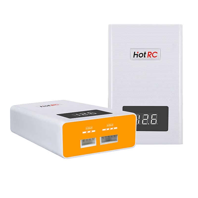 Hotrc A400 Digital <font><b>3S</b></font> 4S <font><b>3000mah</b></font> RC <font><b>Lipo</b></font> <font><b>Battery</b></font> Balance Charger with LED Screen Discharger for RC FPV Racing Drone Quadcopter image