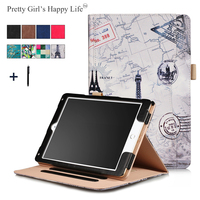 Pretty Girls Happy Life For IPad 9 7 2017 Universal Tablet Case For IPad Air 2