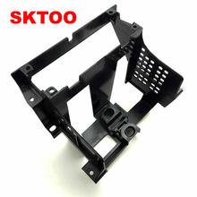 SKTOO для 2001-2005 VW Passat B5 коробка Инструмент центральной CD Box радио отделкой Панель радио кадр Монтажный кронштейн CD Frame кронштейн