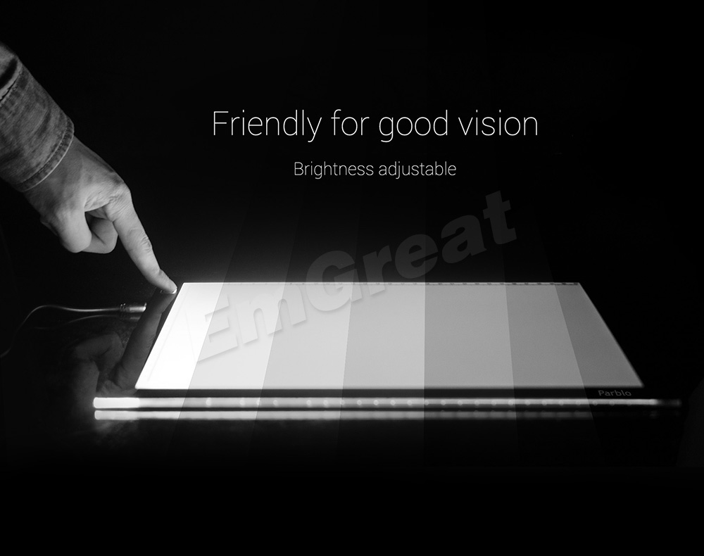 Parblo A4 Led Light Pad Copy Tracing Light Box Borad A4S Graphic - Computerrandapparatuur - Foto 4