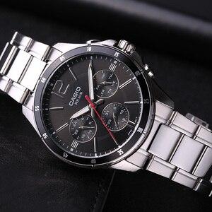 Image 5 - Casio relógio masculino casual de quartzo, relógio de negócios, série ponteiro, MTP 1374D 1A