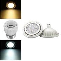 LEDโคมไฟหลอดไฟGU10 12วัตต์15วัตต์3030 SMD AR111นำสปอตไลหลอดไฟLEDแสงสีขาวบริสุทธิ์อบอุ่น2700-7000พันAC85-265V