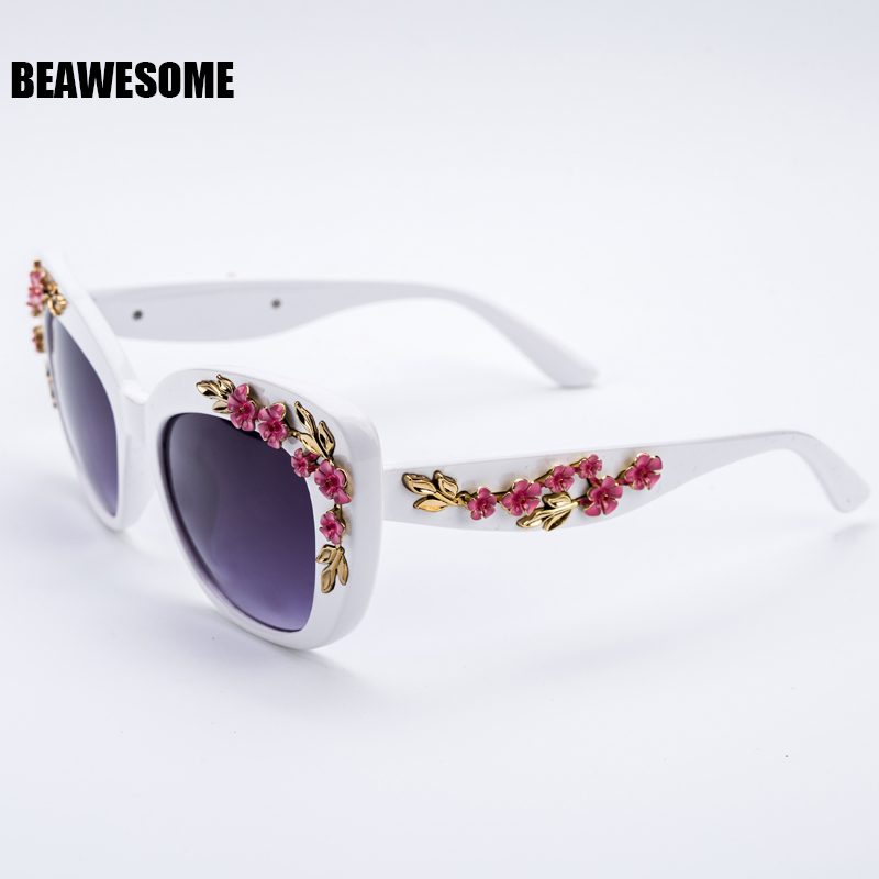 2017 New Luxury Queen cat eye Sunglassess