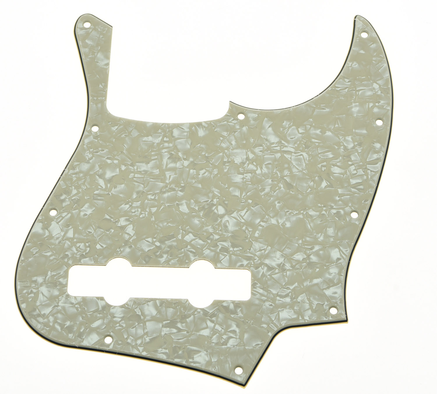 USA Spec Aged Pearl Pick guard 5 String Jazz J Bass Pickguard Scrach Plate