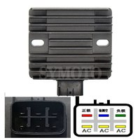 Motorcycle Regulator Voltage Rectifier 12V For Suzuki DL1000 2002 2003 2004 2005 2006 VSTROM DL 1000