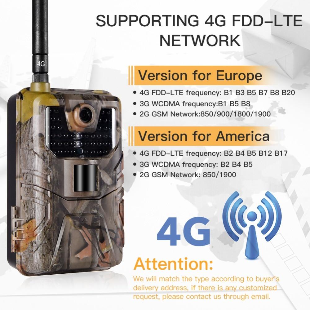 HC 900LTE 4 グラム狩猟カメラ 16MP 1080 1080P MMS/SMS/SMTP/FTP トレイルカメラ IP65 0.3s 写真トラップ 940nm 赤外線 LED スカウト野生カメラ  グループ上の スポーツ & エンターテイメント からの 狩猟カメラ の中 2