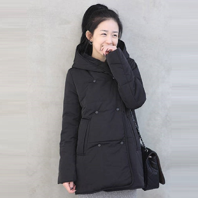 2016 Winter Maternity Coat Warm jacket Maternity down Jacket Pregnant clothing Women outerwear parkas winter warm clothing 16842
