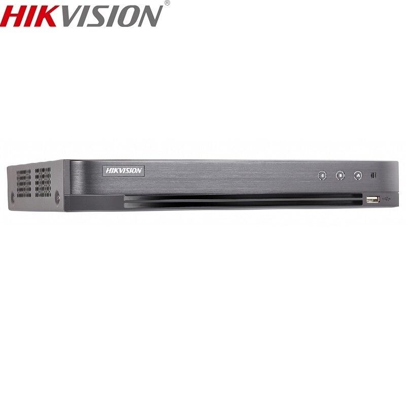 Hikvision Originale Anglaise Version Turbo dvr hd DS-7216HQHI-K1 16ch 4MP HDTVI/HDCVI/AHD/CVBS Signal sortie hdmi à up à 4 K