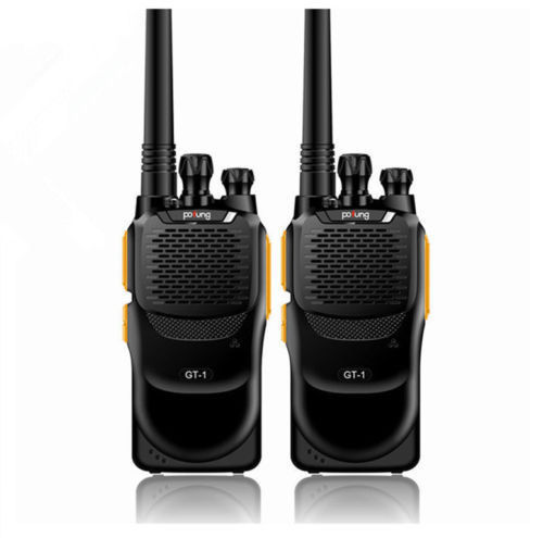 2 PCS Baofeng GT-1 Pofung UHF 2M 400-470MHz 16CH FM Two-way Ham Hand-held Radio Walkie Talkie Better Than BF-888s