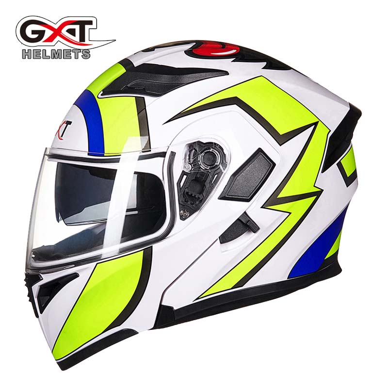 2017 New motorcycle racing Flip Up helmet GXT G902 open face motorbike motocross helmets dirt bike  size M  L XL 2017 new ece certification ls2 motocross motorcycle helmet ff352 full face motorbike helmets made of abs and pc silver decadent