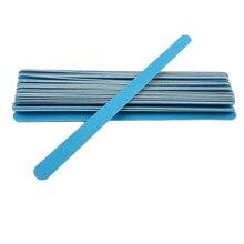 Профессиональный 20 шт./лот синий пилочка для ногтей 150/150 шлифовальный буферный блок советы двухсторонний Гель-лак маникюрные инструменты для ногтевого салона