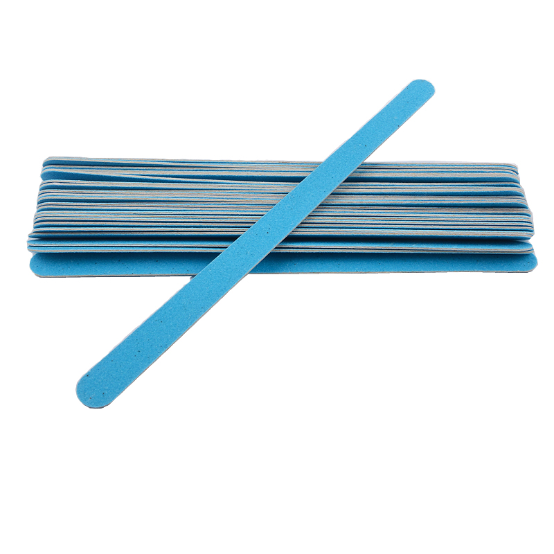 Professional 20pcs/lot Blue Nail File 150/150 Sanding Buffer Block Tips Double Side Gel Polish Manicure Nail Salon Tools