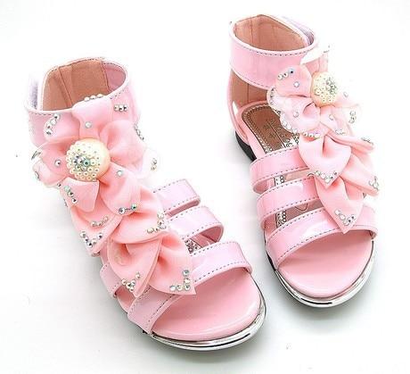 Silk Flower Princess shoes