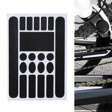 Велосипедная рамка с защитой от царапин защитная наклейка водостойкая Защитная Наклейка s для MTB велосипеда ASD88