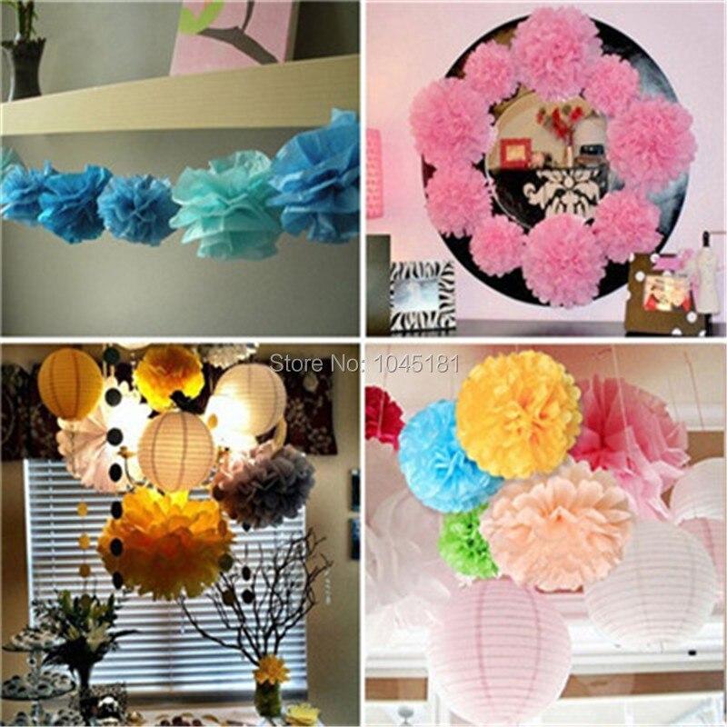 ᗛIpalmay nueva llegada! 200 unids/lote 10 tejido flores de papel ...