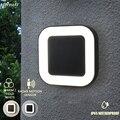 Дизайн 20 Вт Ip65 водонепроницаемый внешний 40 Led уличные настенные фонари садовый настенный фонарь Наружное освещение в стиле модерн с датчико...