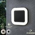 Diseño 20w Ip65 impermeable Exterior 40 lámparas de pared Led al aire libre luz de pared de jardín iluminación moderna al aire libre con movimiento de Radar sensor