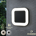 Disegno 20w Ip65 Impermeabile Esterno 40 Led Lampade Da Parete per Esterni Applique Da Parete Da Giardino Moderna Lampade escursione e campeggio Con Il Radar del Sensore di Movimento