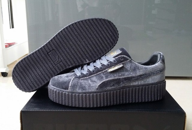 new style 10cee 99fd2 Hotsale 2017 Puma by Rihanna Suede Creepers Fenty men sports shoes  Badminton Shoes Sneakers size40 44-in Badminton Shoes from Sports &  Entertainment ...