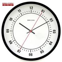 Duży 12 cal 30 cm Metalowe Zegary Ścienne W Stylu Amerykańskim Pilot zegarek Milczy Non Materacy do Salonu Biura Sypialni Domu wystrój