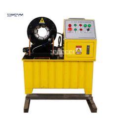 جديد وصول PSF-51 عالية الجودة الهيدروليكية ماكينة تجعيد الخراطيم 220 فولت/380 فولت 2.2KW/3KW قطر 6 مللي متر-51 مللي متر 31.5MPA 449T 0.02 مللي متر