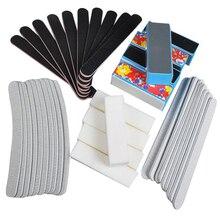40PCS  Black Nail Art Styling tools Sanding Nail File Buffer For Salon Manicure UV Gel Polisher Nail Files Polish Tool  M01921