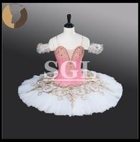 Child Pink Ballet Tutu Adult Dance Costumes Professional Tutus For Ballet Performance Test Girls Sleep Beauty