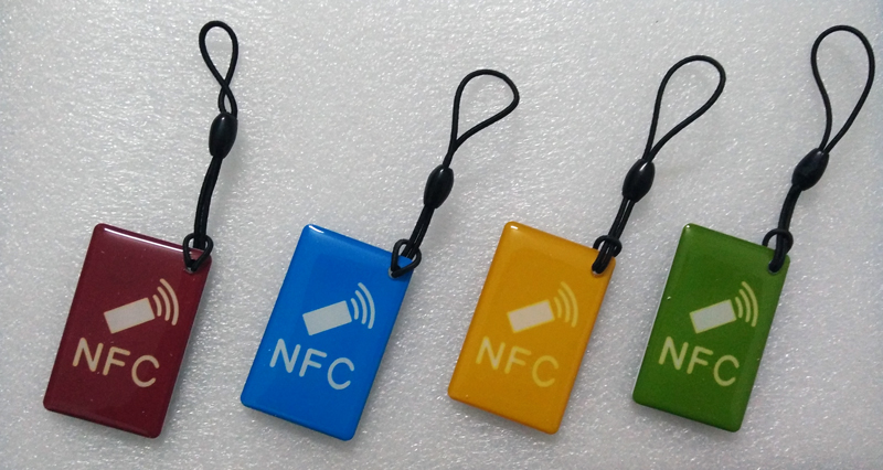 Waterproof NFC Tags/lable Ntag213 13.56mhz NFC 144bytes Crystal Drip Gum Card  for All NFC enabled phone ,min:5pcs