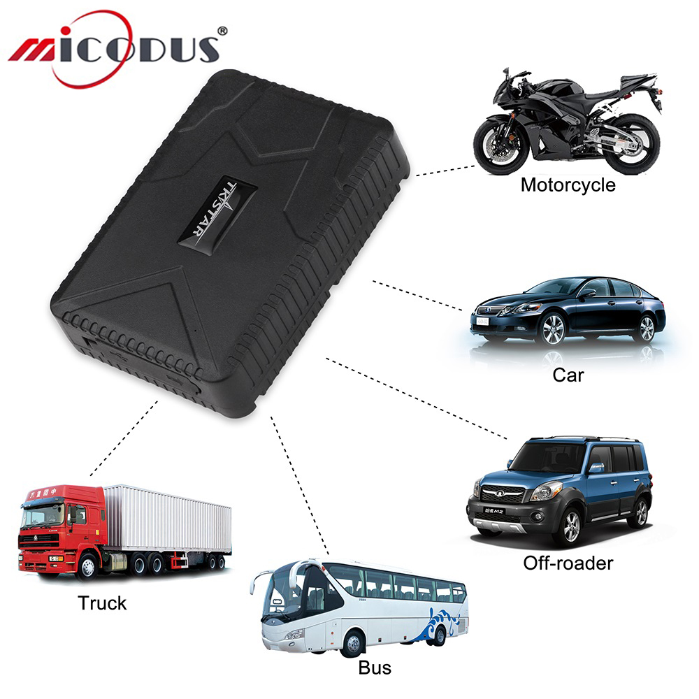 Car GPS Tracker Waterproof 10000mAh Battery Powerful Magnet GPS Tracking Locator GSM Alarm TK915 120 Days Standby Free Web APP ...