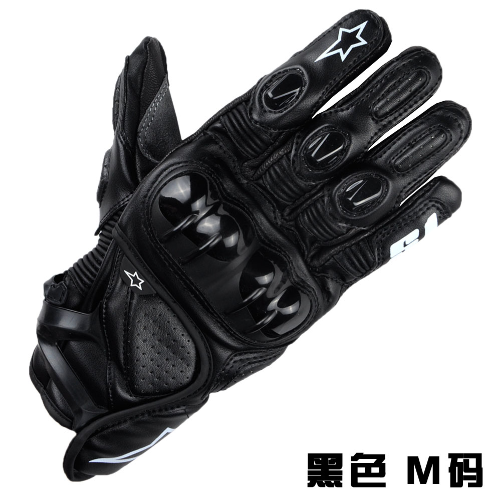 Claw Leather Motorcycle Ghost Gloves long winter warm fall off heavy motorcycle riders riding gloves