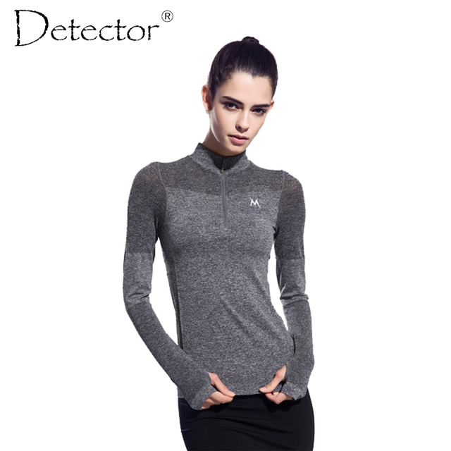 Women's Long Sleeve Running Shirts Tops Compression Tights Sportswear Fitness Workout Quick Dry Breathable Shirts