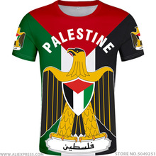 PALESTINE t shirt diy free custom made name number palaestina t shirt PLE nation flag tate palestina college print logo clothing
