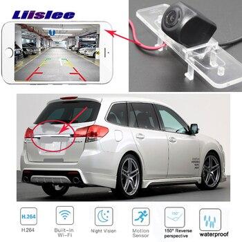 LiisLee wireless Car Rear View camera For Subaru Legacy  Liberty Hatchback 2003-2009 CCD Reversing Pacrking Camera
