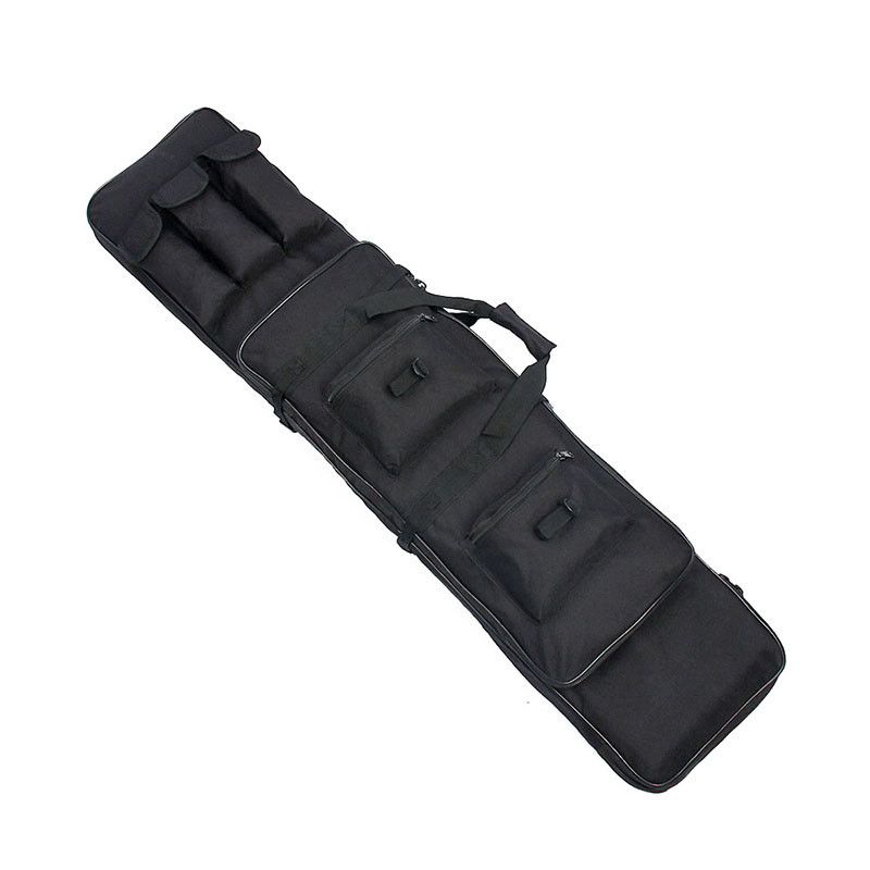 Free Shipping 600D Rifle Sniper Case Gun Bag Black Color Oxford Fabric Black Color Versatile Bag PP12-0015 free shipping 200g bag gardenia black color pigment