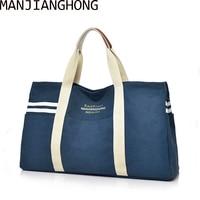 2018 Brand Vintage Canvas Shoulder Bag Men High Quality Women Handbags Ladies Hand Bag Large Tote