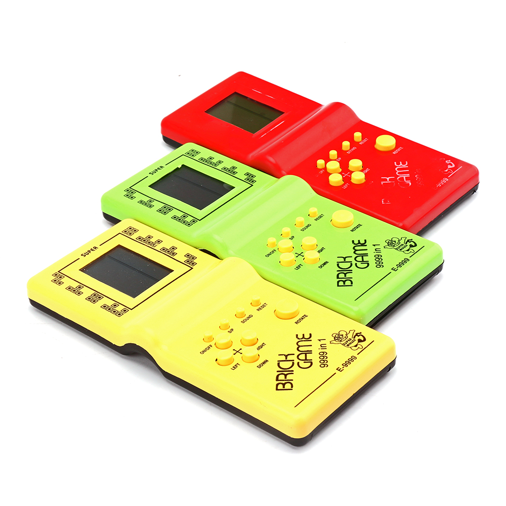 Powstro Video Game Tetris Tay Màn Hình Điện Tử LCD Đồ Chơi Trò Chơi Vui  Nhộn Gạch Xếp Hình Xếp Hình Chơi Game Cầm Tay Máy Chơi Game Retro Trò Chơi