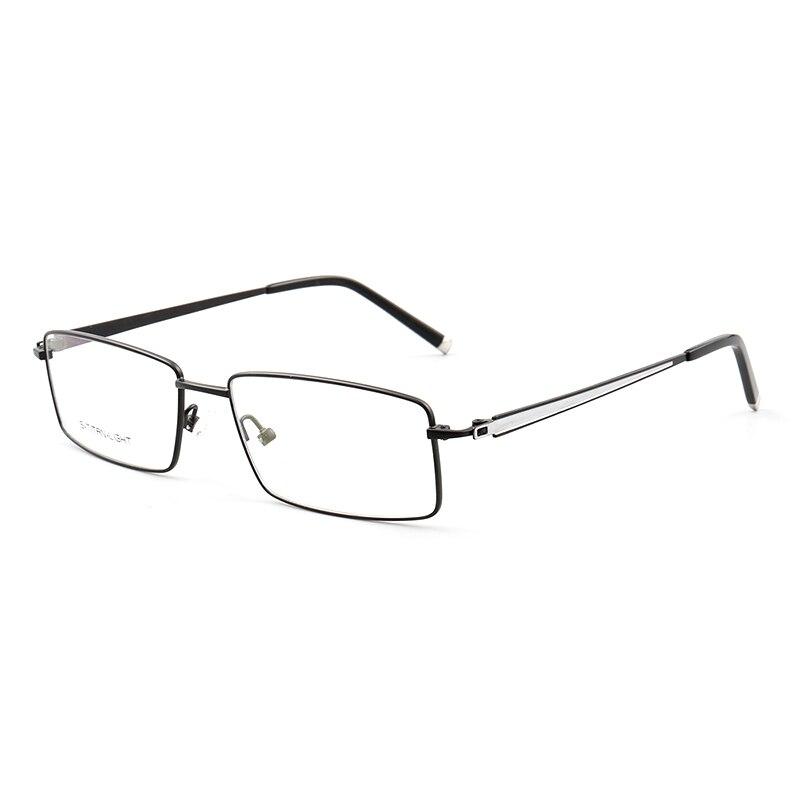 Sunny spot wholesale new metal glasses frame full frame business optical myopia glasses anti-blue radiation NEW