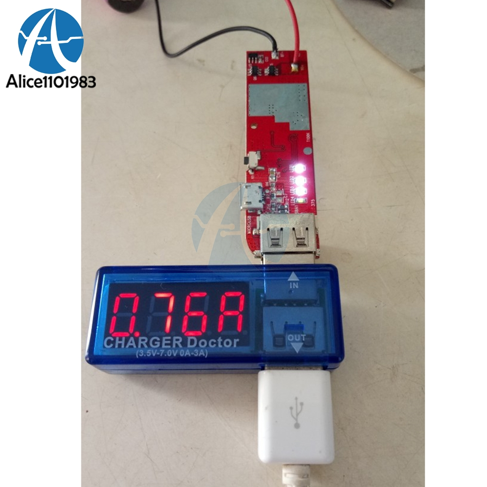 2A High Current IP5189 Dual USB Port Indicator Board Mobile Power Charger Module