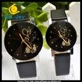 50 pares WJ-5350 charme moda hot sale popular amante casal relógios de pulso de quartzo barato